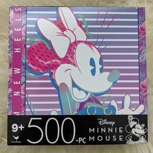 🆕 Disney Minnie Mouse 500 piece jigsaw puzzle